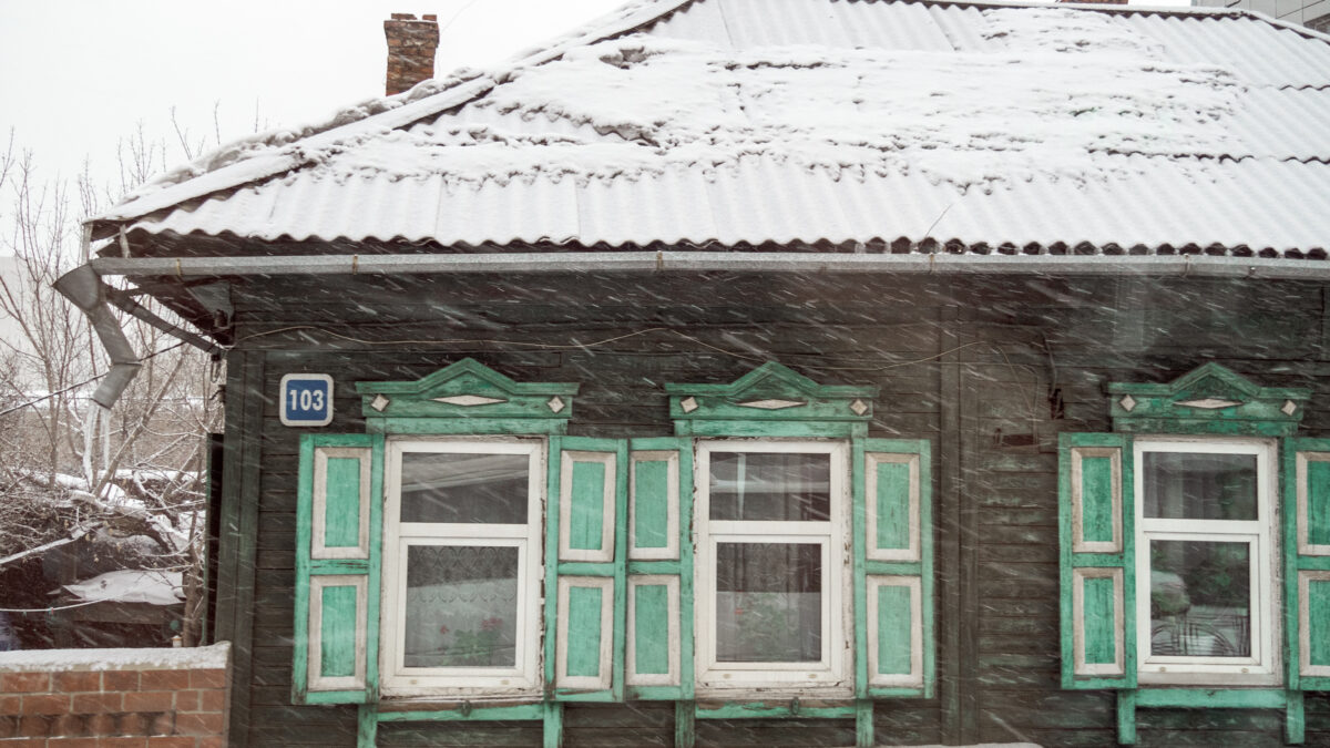 Random domek v Irkutsku