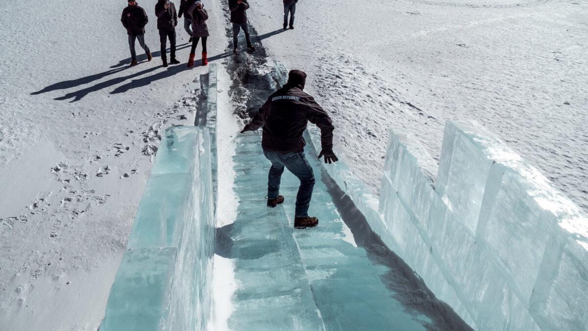blbnutí na ledě
