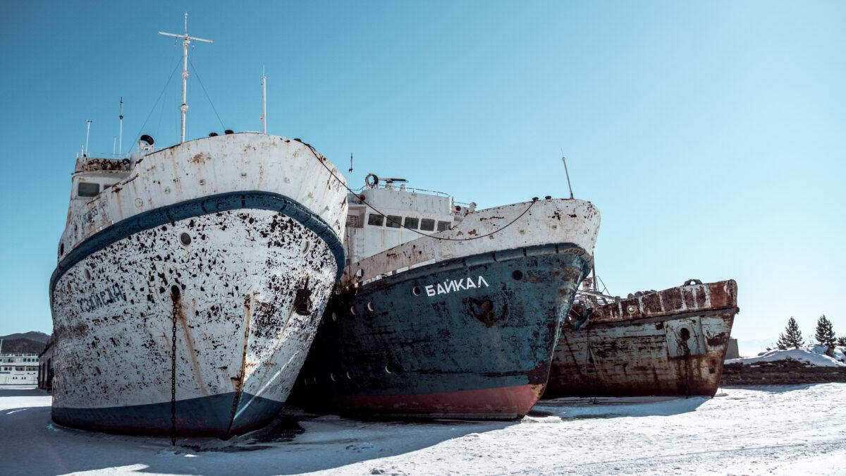 Opuštěné lodě