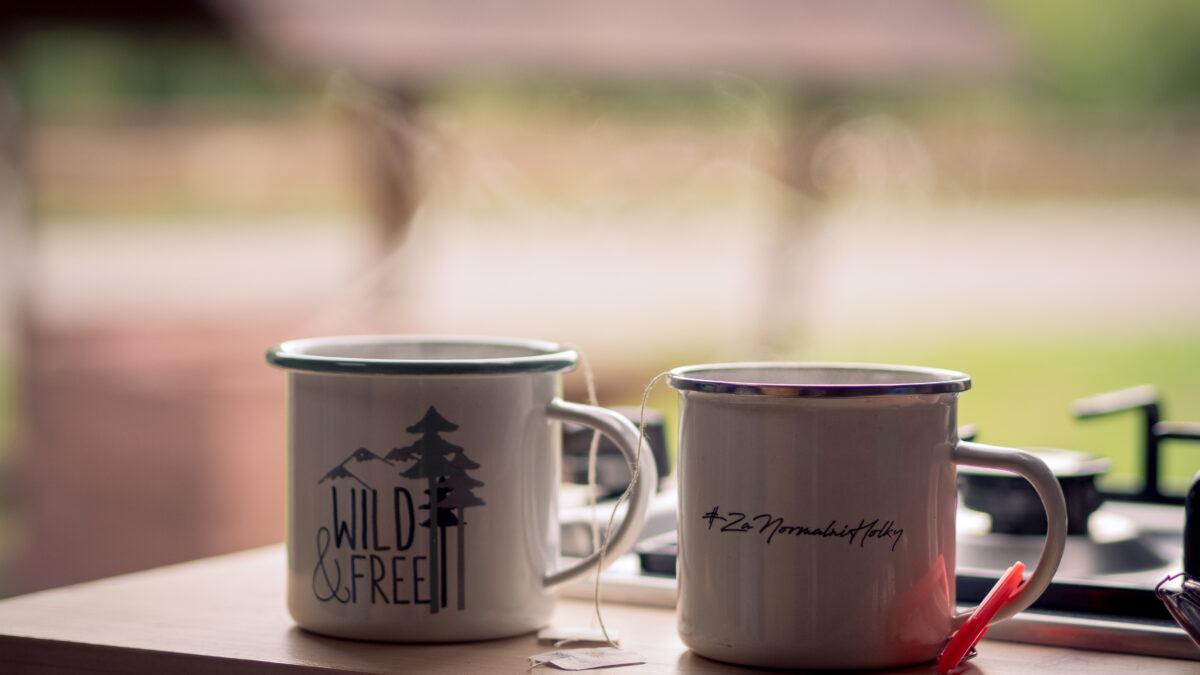 Čaj je nejlepší začátek dne