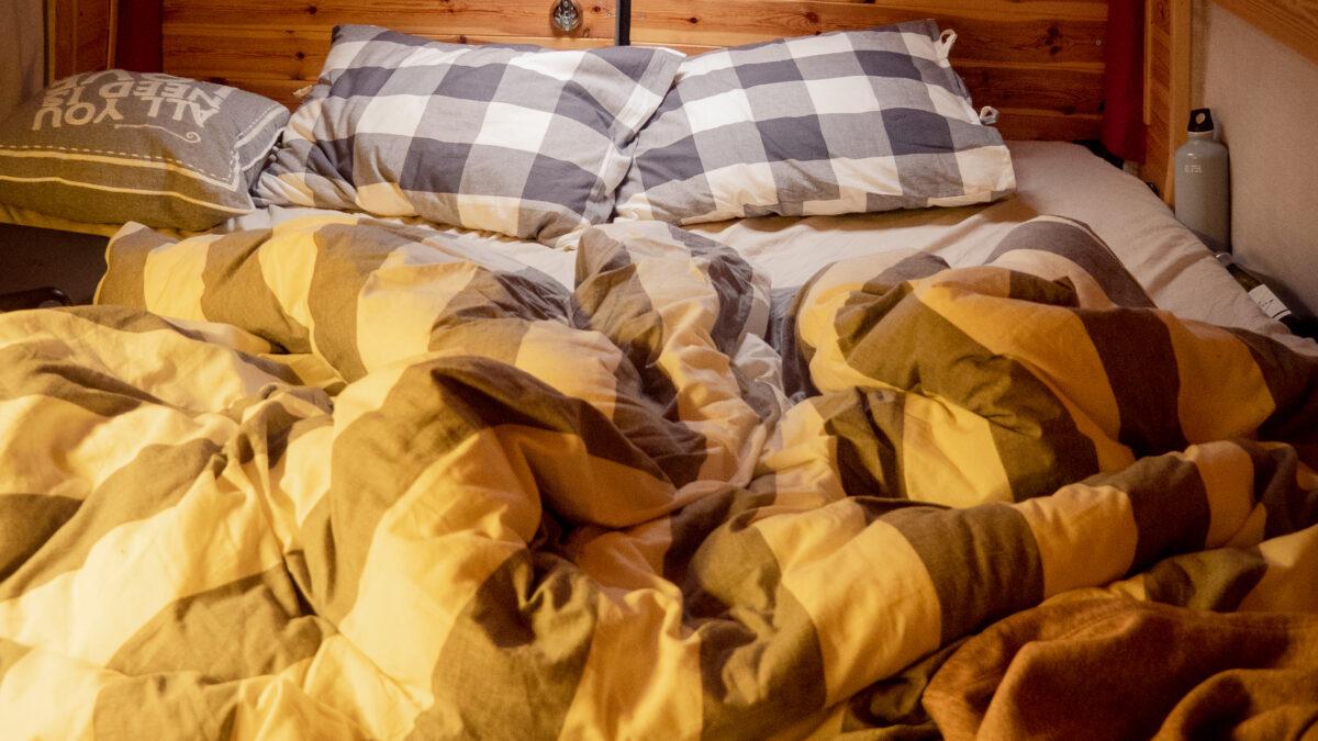 Rozložená postel