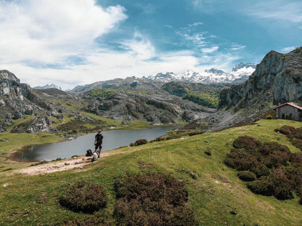Jezera v národním parku Picos de Europa